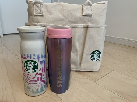 [일본 스타벅스] 2021 스타벅스 복주머니(2021 スタバ福袋) 개봉기