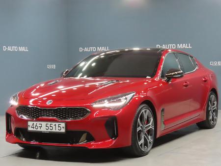 대전스포츠카 스팅어 3.3 GT 2018년식 판매중