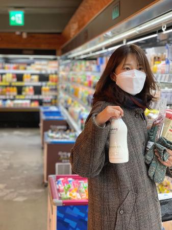 201208 _ 피자를 먹고 '사러가 마트'로 @연희동 (아이폰12프로맥스 사진)