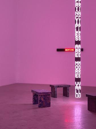 201216 _ 제니 홀저 Jenny Holzer '국제갤러리' @소격동 (아이폰12프로맥스사진)