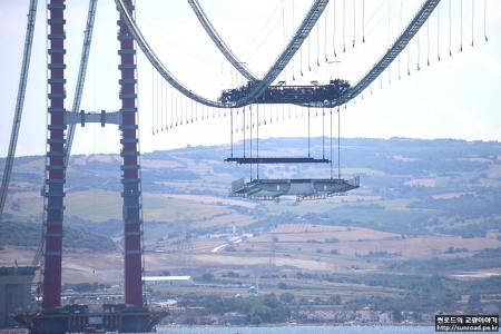 차낙칼레 교량 Deck 가설 (2021.07.20)
