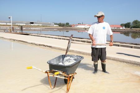 크로아티아 - 소금꽃 피는 Nin은 일광욕 해수욕 진흙욕을 한꺼번에