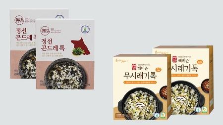 【우리네 상품展】해비즌 곤드레톡·무시래기톡