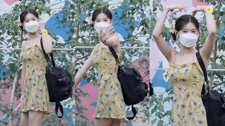 210615 네이버 NOW 소문의 아이들 퇴근길 (여자)아이들 미연 직캠 by 스피넬