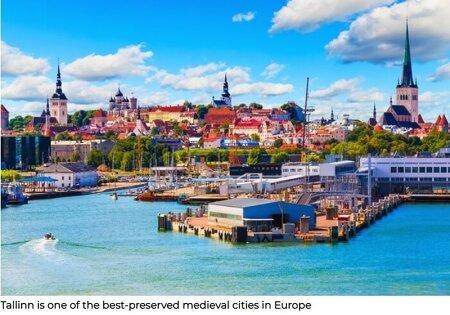 유럽에서 가장 깨끗한 도시는 VIDEO: Tallinn named European Green Capital 2023