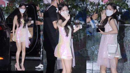 210817 네이버 NOW 소문의 아이들 출근길 (여자)아이들 미연 직캠 by 스피넬