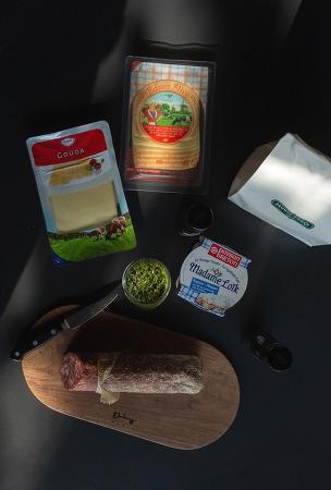201209 _ 훈고링고브레드 치아바타를 이용한 우리의 점심 식사 (아이폰12프로맥스 사진)