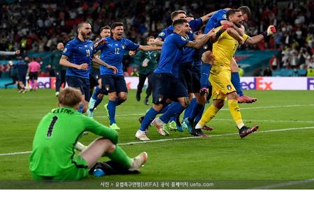 이탈리아, 유로 우승...잉글랜드에 PK 승리