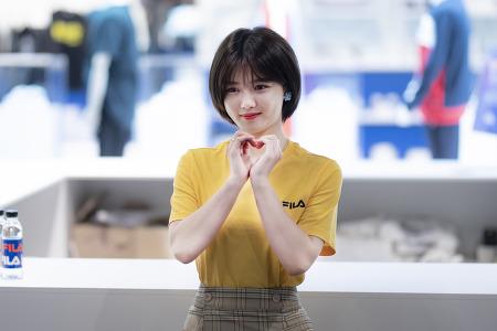 190518 휠라 뮤제오 신세계백화점 김유정