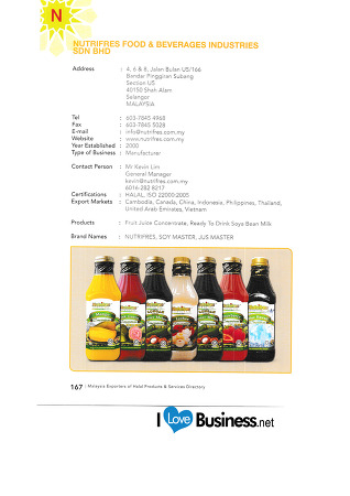 7-할랄제품, 할랄서비스 수출기업 디렉토리 : Directory of Halal Products and Halal Service Export Companies