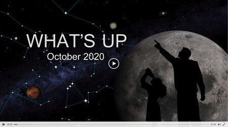 What's Up: October 2020  2020년 10월의 주요 천문 현상