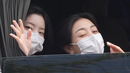 210614 최화정의 파워타임 퇴근길 트와이스 다현 지효 직캠 by 스피넬