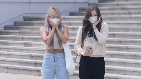 210817 정은지의 가요광장 출근길 효린 다솜 직캠 by 스피넬