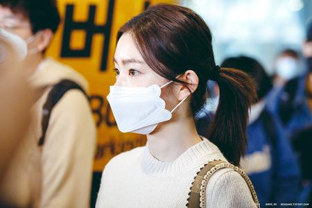 200225 인천공항 레드벨벳 아이린 입국 직찍