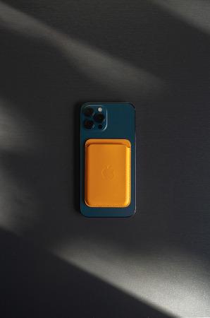 아이폰 맥세이프형 가죽 카드지갑 _ MagSafe iPhone Leather Wallet