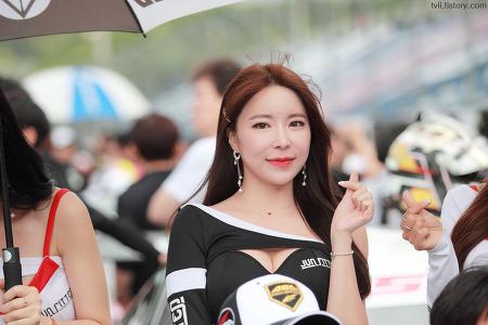 2019 슈퍼레이스 4라운드 레이싱모델 이설아