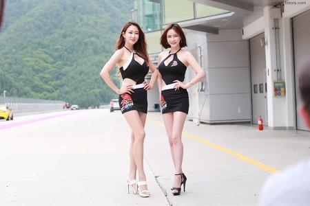 2019 슈퍼챌린지 2라운드 레이싱모델 한채이, 민수아