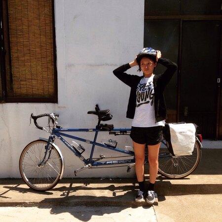 [탠덤라이딩] 8개월만에 자전거 바퀴를 굴리다~