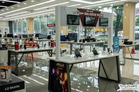 LG V50 ThinQ, 5G 게임 대회! LG베스트샵 찾아보니