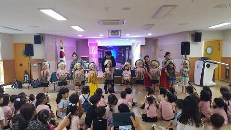 의림유치원   찾아가는 세계악기체험 음악공연