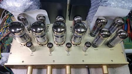진공관 복합PP앰프 6L6, KT88, EL34 (수입오디오수리/진공관앰프제작 부천 한국음향)