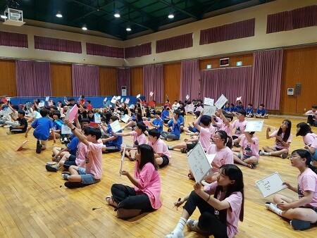 홍광초등학교  영어골든벨 개최