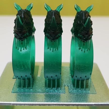 여러가지 기술방식의 3D프린터 출력물