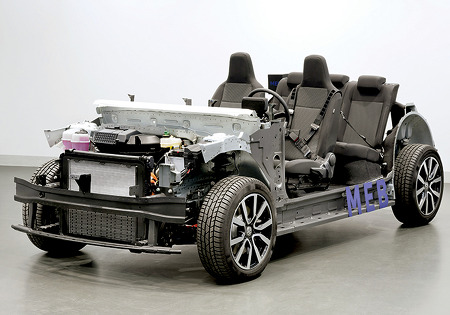 폭스 바겐(VW)의 MEB 플랫폼(Platform) 구상(20년 3월 15일)