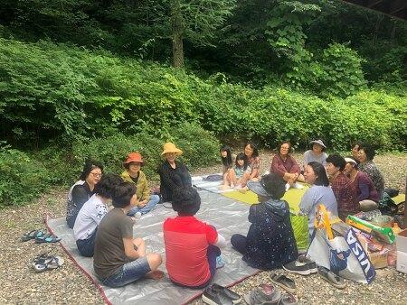 회원만남의날 고산자연휴양림으로 다녀왔어요!