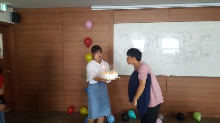 천안청소년YMCA '수능 100일 파티'