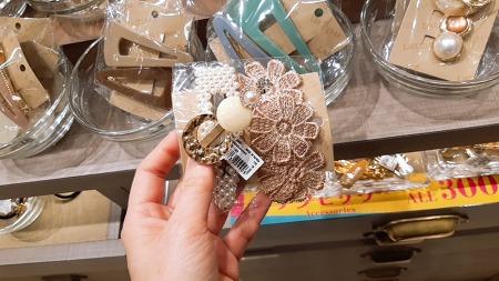 악세사리 쇼핑 - 머리에 꽃을~!