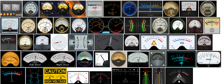 AIMP 아날로그 신호 레벨 표시기-시각화 플러그인