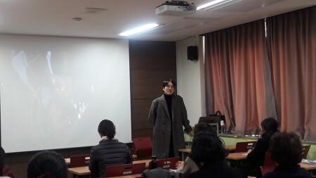 2019년 안용태 작가 출강