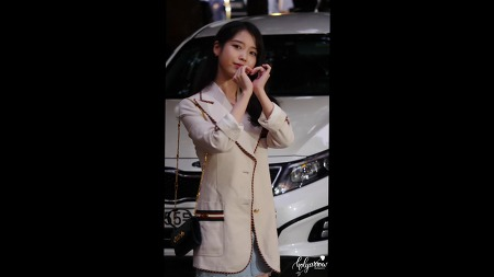 [2019.09.01] 호텔델루나 종방연 아이유 참석 직캠 by holyarrow