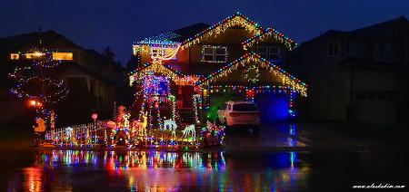 """알래스카 """" 메리 크리스마스 """""""