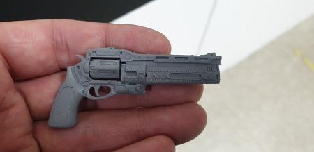 3d프린터로 출력한 총