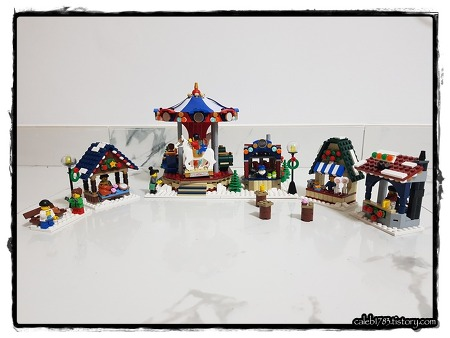 윈터 빌리지 마켓 - 레고 크리에이터 (Winter Village Market, Lego Creator)