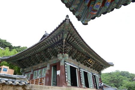 [한국의 미] 한국 전통문화의 걸작, 대구 동화사 전각의 아름다운 곡선