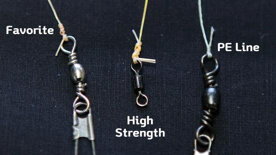 바다낚시 필수 매듭법 3가지! fishing knot, How to tie a Swivel