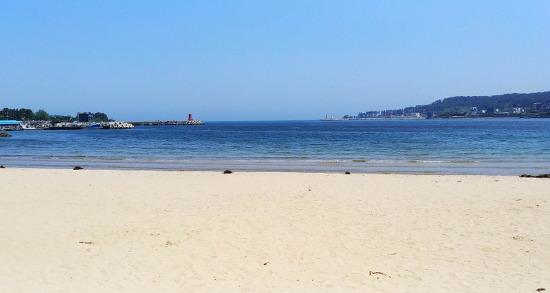 [기장여행] 모래사장이 고운, 어린이를 동반한 피서객에게 인기있는 일광해수욕장/여름이 오면 다시 찾고 싶은 기장 일광해수욕장/기장여행코스/기장 가볼만한 곳