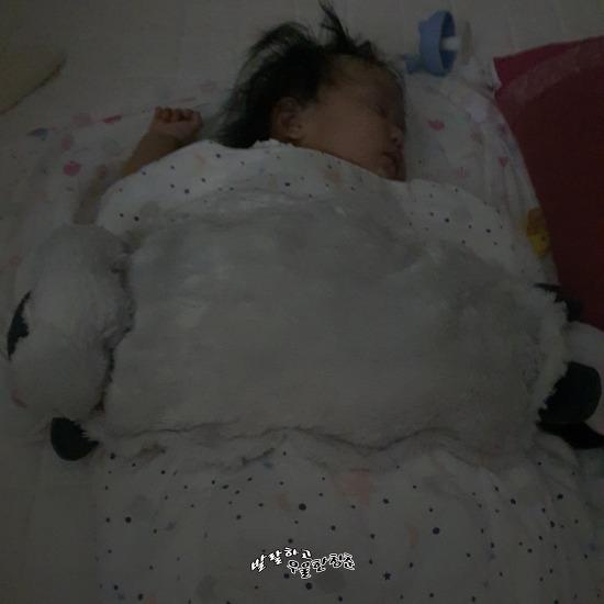 젖물잠 아기 수면교육 시작하기 첫째날(150일, 머미쿨쿨 & 꿀잠블랭킷 & 베이비위스퍼)
