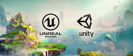 메타버스 세계를 만드는 핵심 플랫폼, '유니티'와 '언리얼'