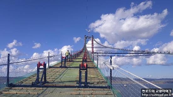차낙칼레 교량 주탑 등반기 (2021.01.01)