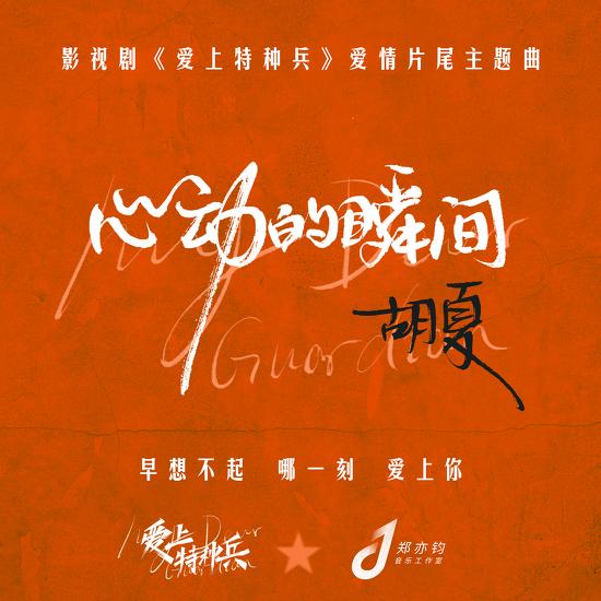 후샤(호하)가 노래한 드라마 《爱上特种兵 애상특종병》 사랑의 엔딩 주제곡 《心动的瞬间 심동적순간》 MV