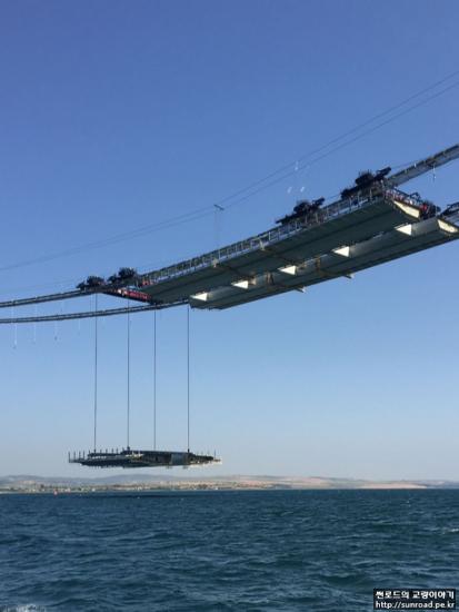 차낙칼레 교량 Deck 시공 2 - L/G Deck 가설 (2021.07)