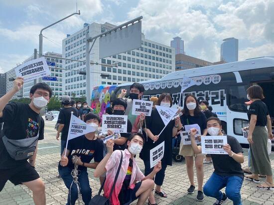 차별금지법 제정 촉구 전국순회 평등버스, 13일의 기록