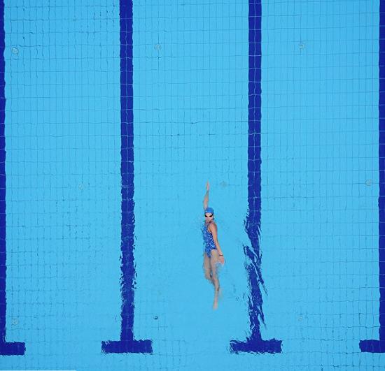 별 일 없던 자수 - 수영일기