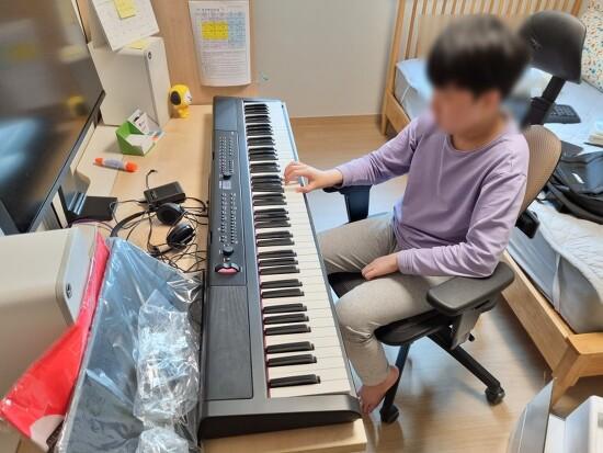 디지털 피아노 아르테시아 PE-88W 구입