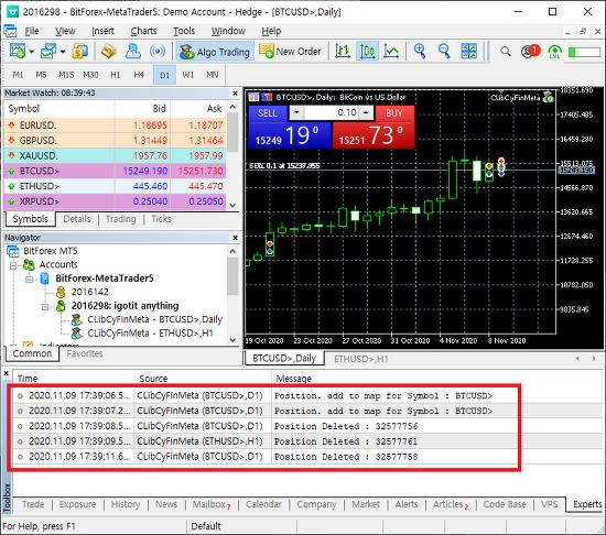 MQL5. 포지션 생성, 청산 시점 검출 이벤트 드리븐 코드.