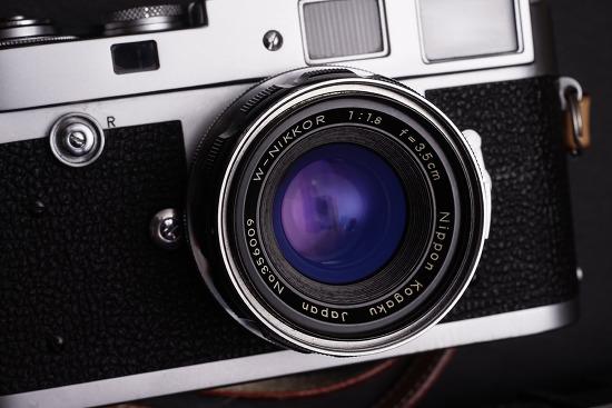 W-Nikkor 3.5cm F1.8 Nikon RF / Leica M Modification II.